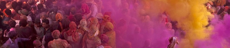 Awesome Festival of Colors, Holi in India...