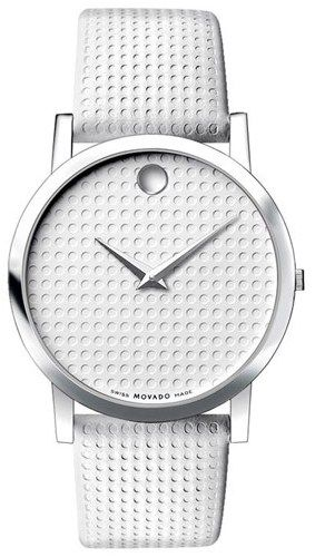 17 best ideas about movado mens watches men s movado white leather men s watch wouldn t use it don t like