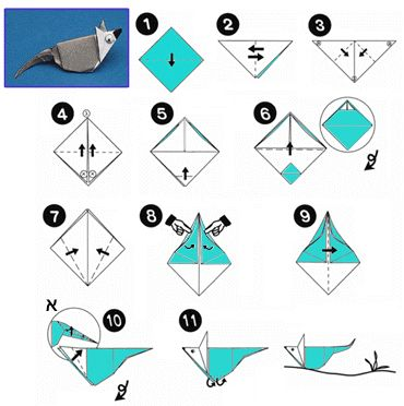 17 best images about origami animals mouse on pinterest