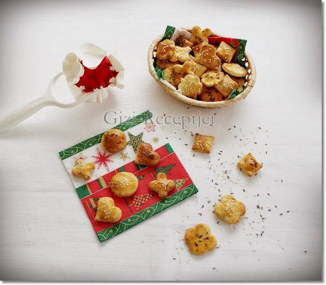 Gizi-receptjei. Várok mindenkit.: Karácsonyi sós sütemény