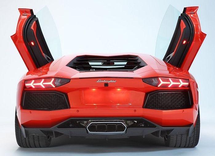 Lamborghini Aventador Spec