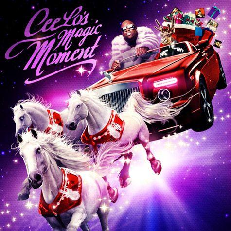 Cee Lo's album cover: Lisa Frank Christmas Acid Trip.