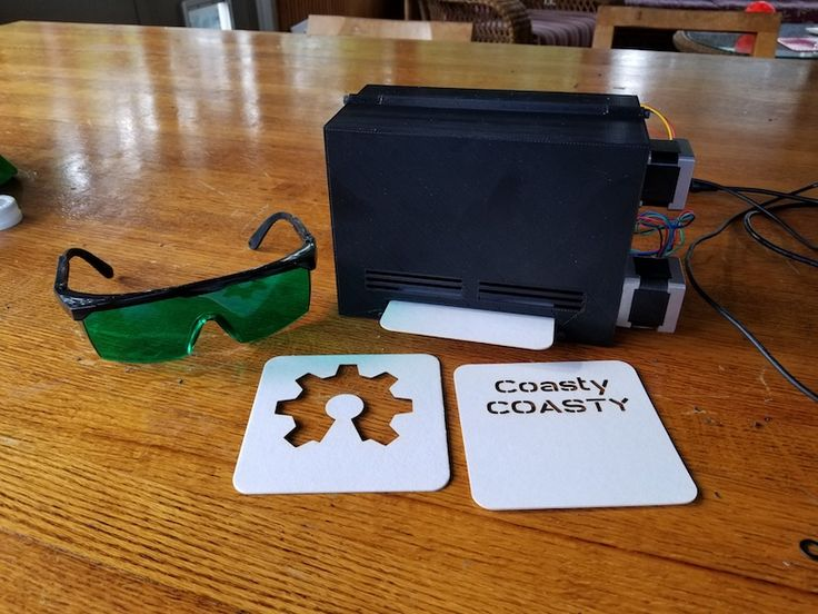 Arduino Blog » Small CNC machines for customizing coasters