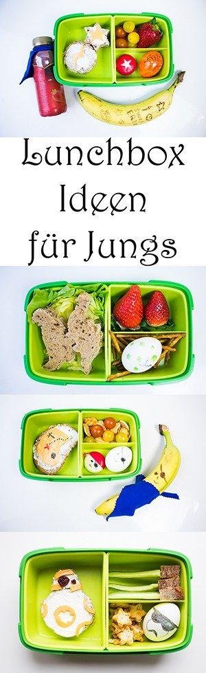 Lunchbox Ideen (nicht nur) für Jungs. Schulbrot für Kinder. Brotdose Ideen