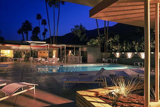 Mid Century Modern - Small Hotel - Orbit In, Palm Springs, California