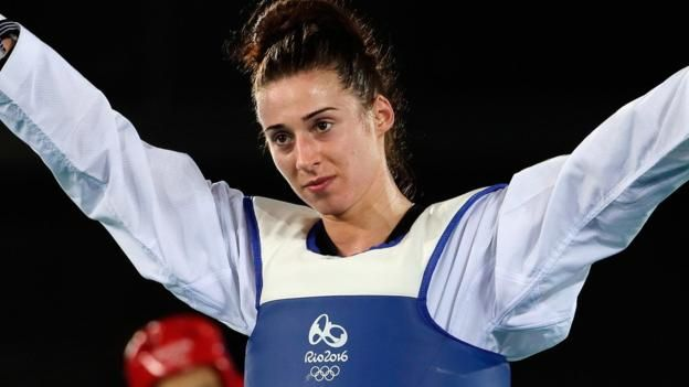 Great Britain's Bianca Walkden wins bronze but Mahama Cho narrowly misses out on…