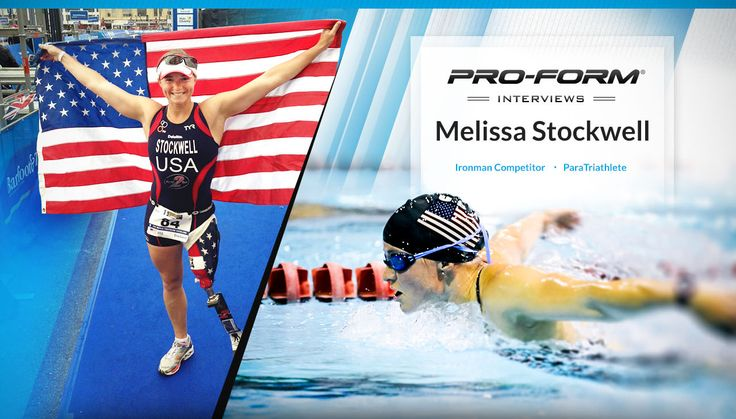 PROFORM BLOG >> Melissa Stockwell: About Living, Overcoming, and Empowering   #LearnFromAChamp