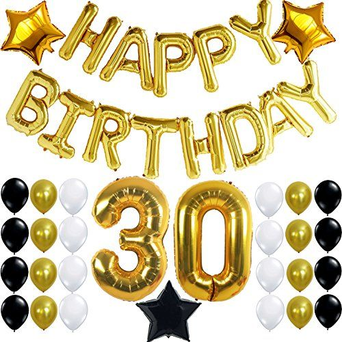 30th birthday party decorations kit happy birthday for 30th birthday decoration packages