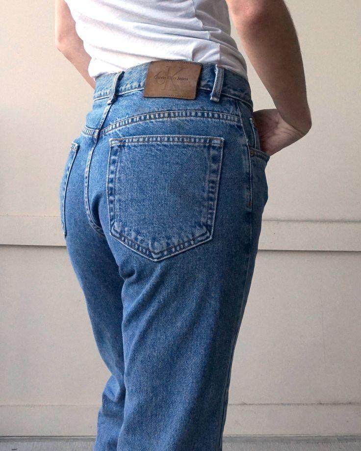 90s Calvin Klein Jeans Size 28 | Vintage CK Jeans 28 | Vintage CK Jeans 28 http://etsy.me/2oqOWym #clothing #women #pants #black #vintagedenim #highwaistedjeans #momjeams #vintagemomjeans #vintagejeans