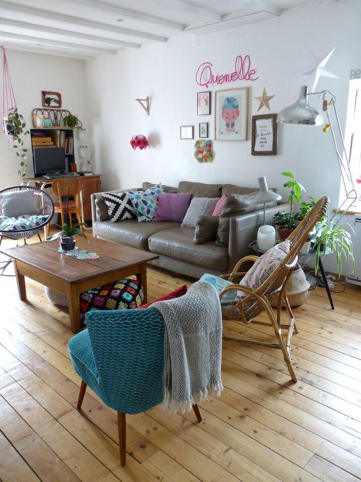 1000 id es sur le th me salon vintage sur pinterest for Salon avec fauteuil