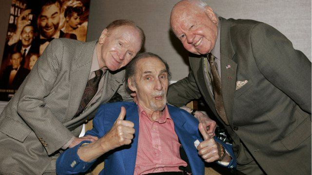 Red Buttons Sid Caesar Mickey Rooney