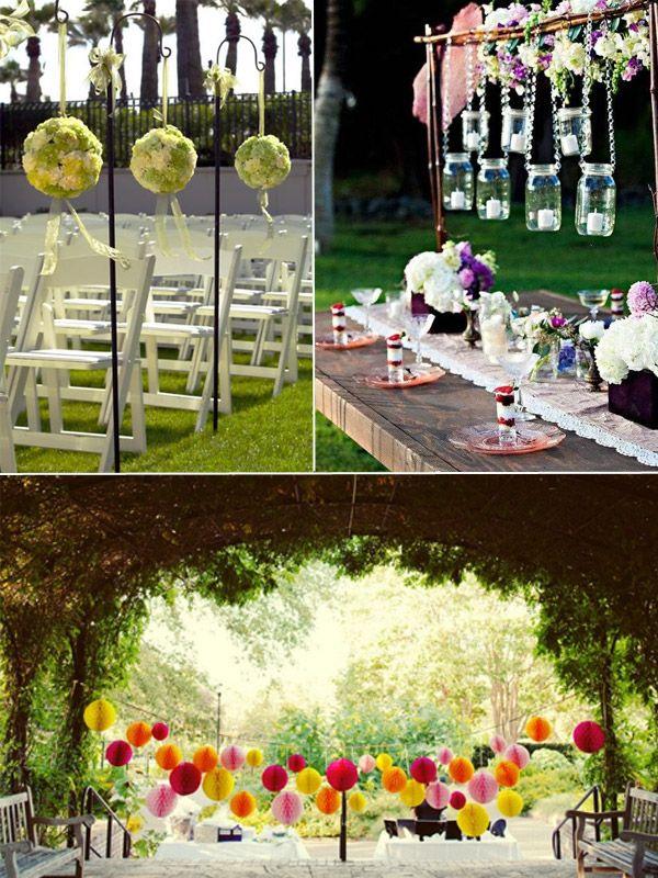 Outdoor Wedding Decorations Ireland : Wedding ideas intelligent for an outdoor garden