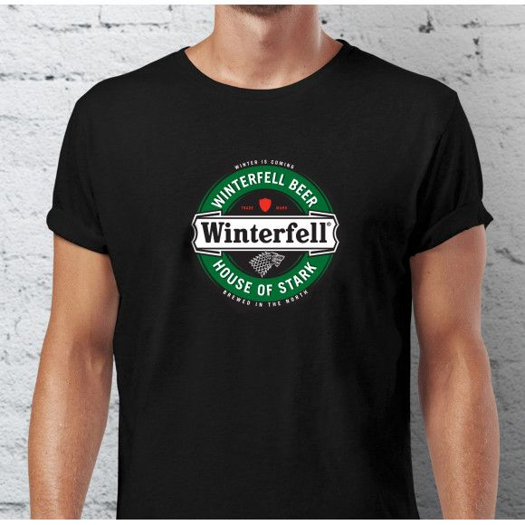 Winterfell beer Game of Thrones fan t-shirt | hardtofind.