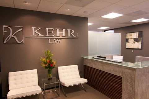 Law Office Reception Design Highrise interior design | Office ...
