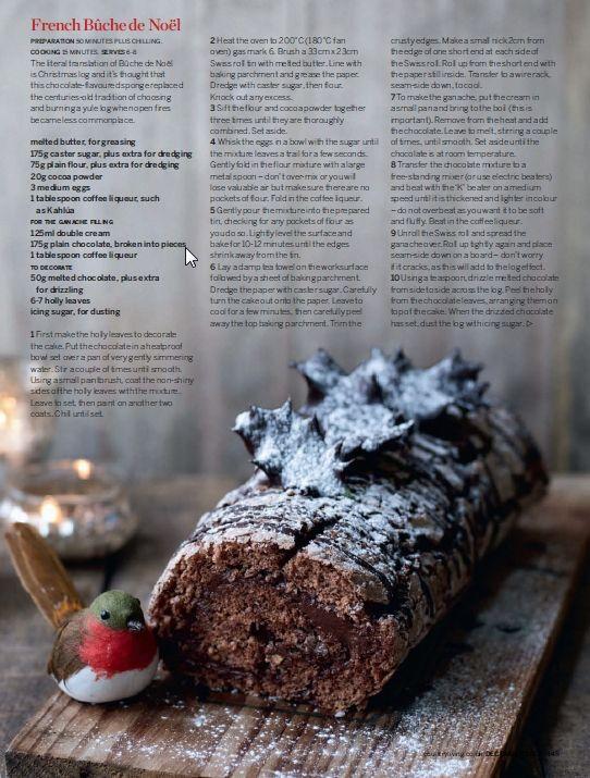77 best Buche de Noel images on Pinterest   Christmas desserts ...
