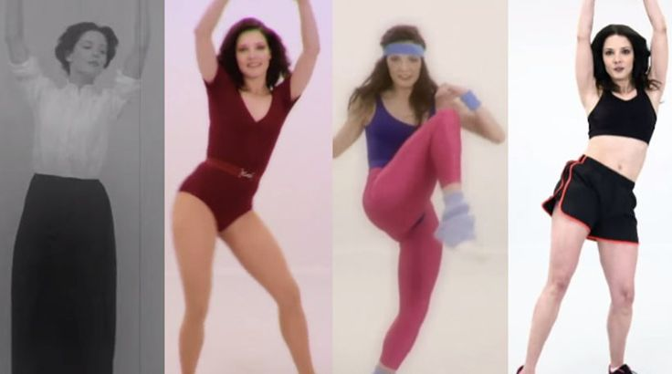 welovewomen: 100 Years of Fitness in 100 seconds