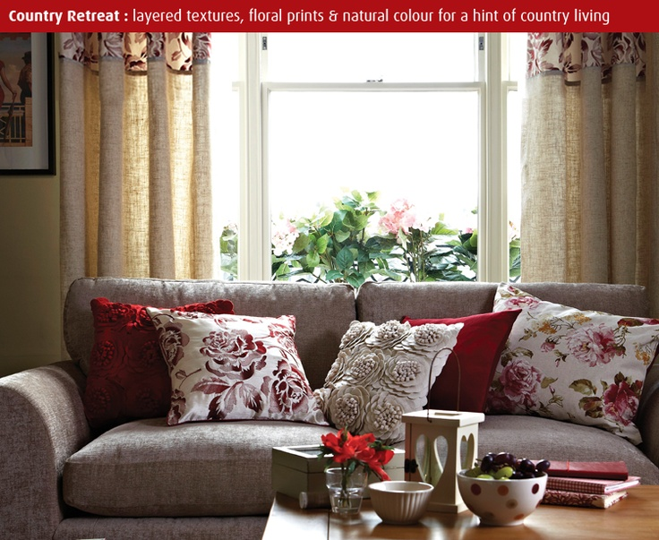 Be inspired living | Dunelm Mill | Living room | Pinterest ...