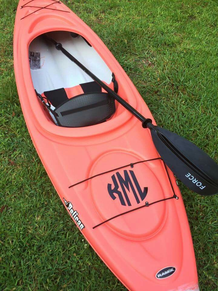 Kayak monogram