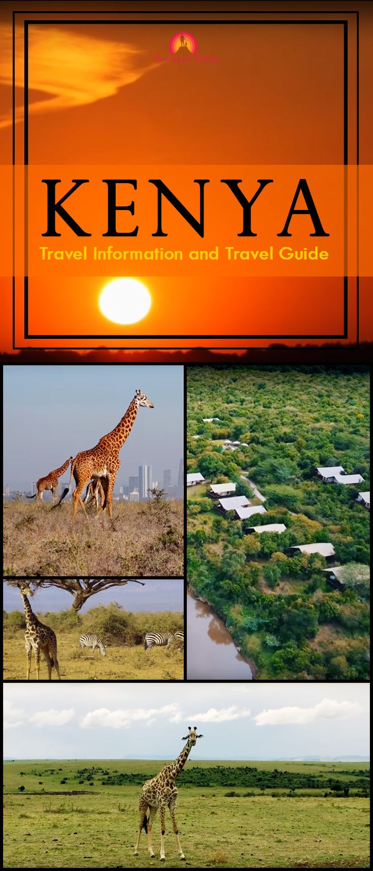 5 Best places of Kenya. July to October is the best time to visit Kenya. This is the dry season when the average daytime temperature is 23-28 degree Celsius. Dry season traveling has several advantages including greater visibility of wildlife. The diminishing watercourses force the wildlife to make more public appearances. #Kenya #Traveldestinations #Adventure #TravelInformation #TravelGuide #TravelTips