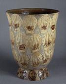 raoul dufy, vaso con conchiglie, taracotta, 1925, Sèvres