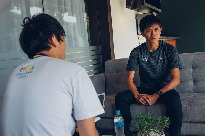 6月に開催された第100回日本陸上競技選手権において5000mと10000mで優勝し、リオデジャネイロ五輪に日本代表として出場した大迫傑選手(ナイキ・オレゴン・プロジェクト)。