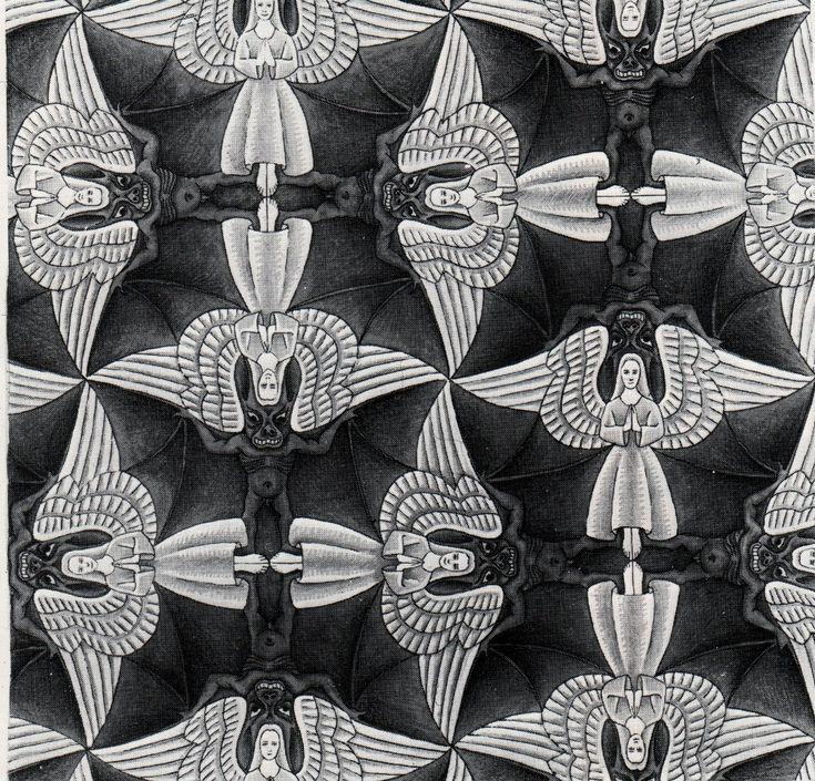 M+C+Escher+Tessellations | Escher, Tessellation, Tudor Rose-Yr 5/6 Art