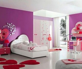 Top 8 Pink And Purple Girls Bedroom Foto Ideas