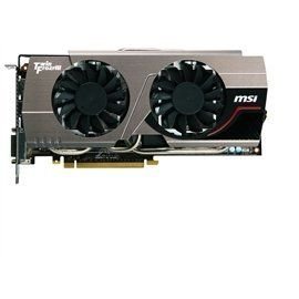 MSI Video Card N680GTX TWINFROZR 2GD5/OC GTX680 2GB DDR5 256Bit D-DVI/HDMI/DisplayPort Retail by MSI. $546.16. Graphics EngineGeForce GTX 680InterfacePCI Express x 16 3.0Memory TypeGDDR5Memory Size (MB)2048Memory Interface256 BitsCore Clock Speed (MHz)1058 (Boost Clock: 1124)Memory Clock Speed (MHz)6008 (3004x2)OutputsDVI x 2HDMI x 1Display Port x 1HDCP SupportYesHDMI SupportYesDual-Link DVIYesDisplay Output (Max Resolution)2560 x 1600RAMDACs400DirectX Version Support11OpenGL Ver...