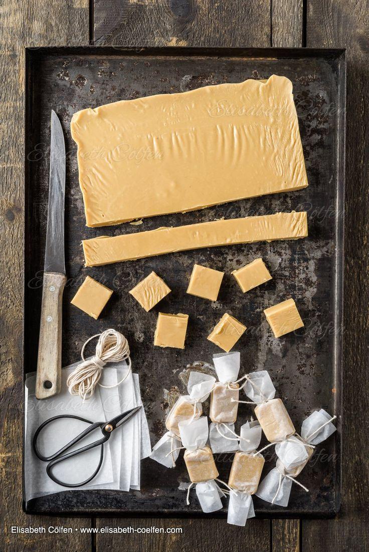 Geschenke aus der Küche - Hausgemachte Karamell-Toffee-Bonbons
