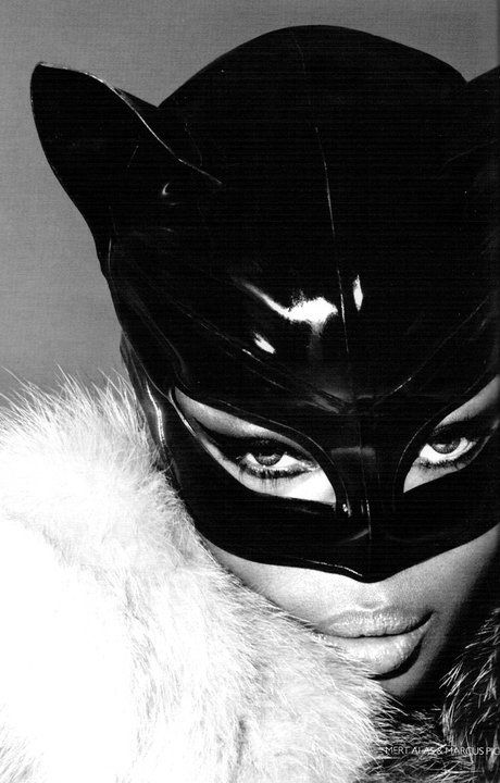 The infamous Naomi Campbell.