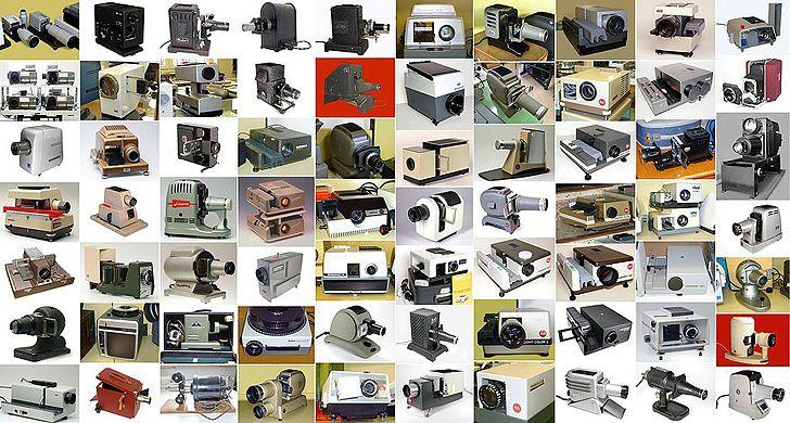 Kamera- und Fotomuseum Kurt Tauber: Projektoren
