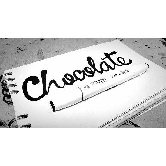 #chocolate #handmade #brushmaker