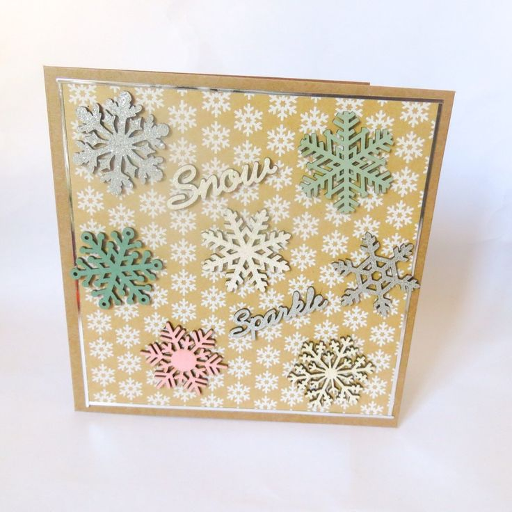 A personal favorite from my Etsy shop https://www.etsy.com/uk/listing/251563287/snow-and-sparkle-snowflake-christmas