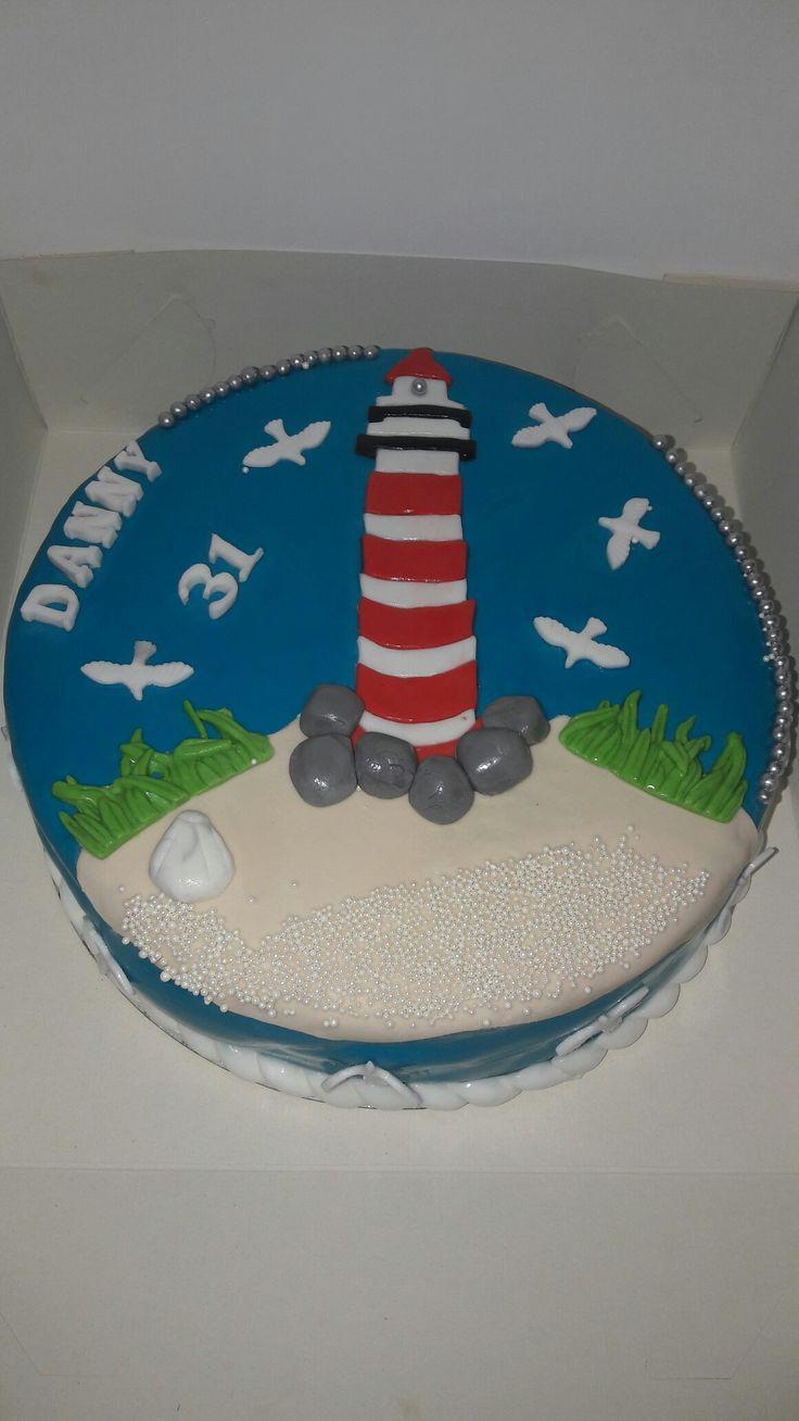 Vuurtoren taart