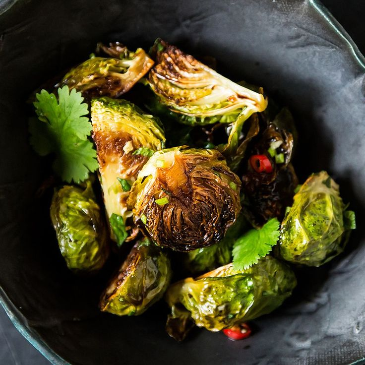Momofuku's Roasted Brussels Sprouts with Fish Sauce Vinaigrette  Recipe on Food52 recipe on Food52