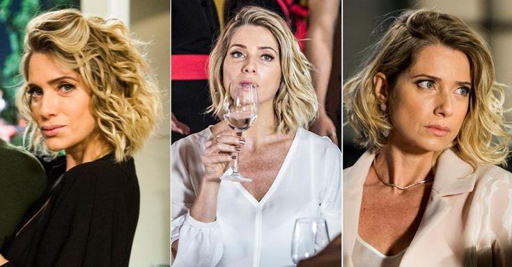 Letícia Spiller: ombré hair e corte bob para ter os cabelos perfeitos de I Love Paraisópolis