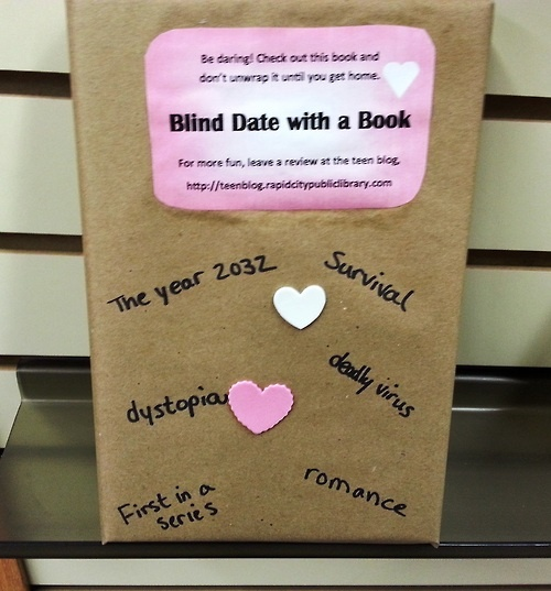 Blind date with a book activity