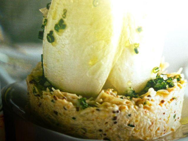 rillettes di granchio alla senape