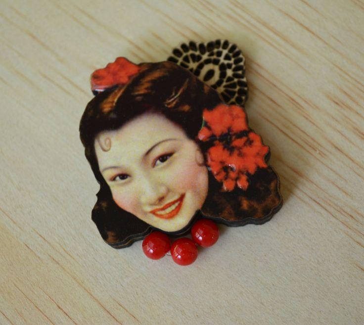 Senorita Sherry Blossom by LadyABroad on Etsy
