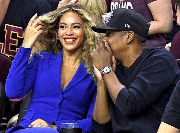 Beyoncé and Jay Z Turn Game 6 of the NBA Finals Into a Romantic Date Night | E! Online Mobile