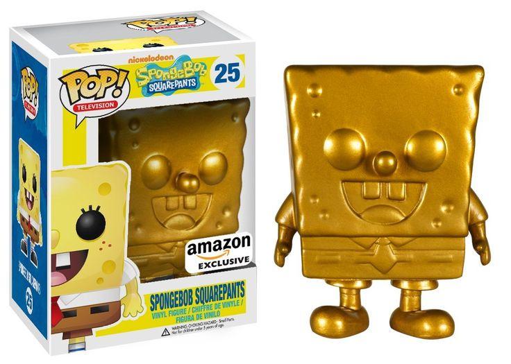 Special Edition Golden Spongebob Squarepants - Funko Pop! Vinyl Figure
