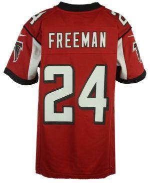 Nike Devonta Freeman Atlanta Falcons Game Jersey, Big Boys (8-20) - Red/Black XL