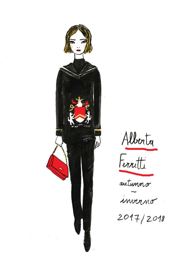Fashion Illustration  fall-winter  2017-2018  Vera Lazzarini