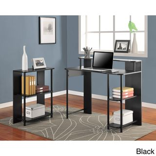 Altra Computer Desk And Bookcase Set | Overstock.com Shopping   The Best  Deals On