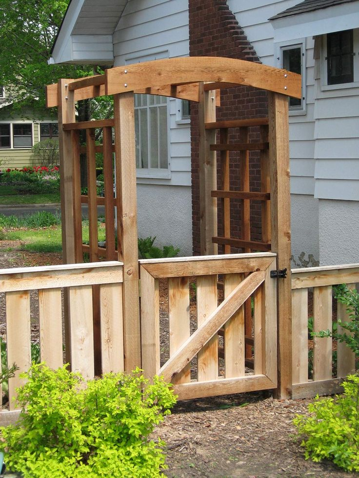 Best 25 arbor gate ideas on pinterest garden arbor with for Fence with arbor