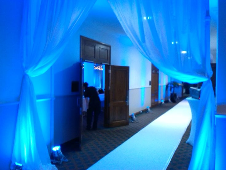 Winter Wonderland Entrance Girls High Ball Palmerston North 2014 White Carpet