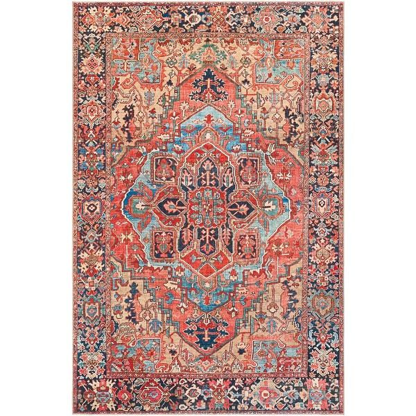 Overstock Com Online Shopping Bedding Furniture Electronics Jewelry Clothing More In 2020 Vintage Medallion Area Rugs Navy Area Rug