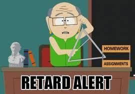 retard alert mr. garrison south park funny