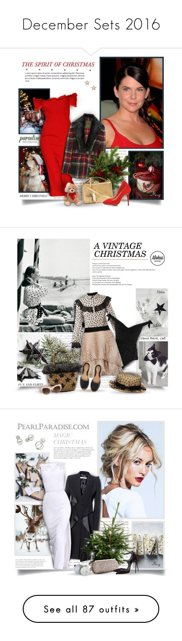 """""""December Sets 2016"""" by thewondersoffashion ❤ liked on Polyvore featuring Prada, Dolce&Gabbana, Mr & Mrs Italy, Mark Cross, Selim Mouzannar, Charlotte Olympia, Victor Xenia, Zimmermann, Enza Costa and Kayu"""