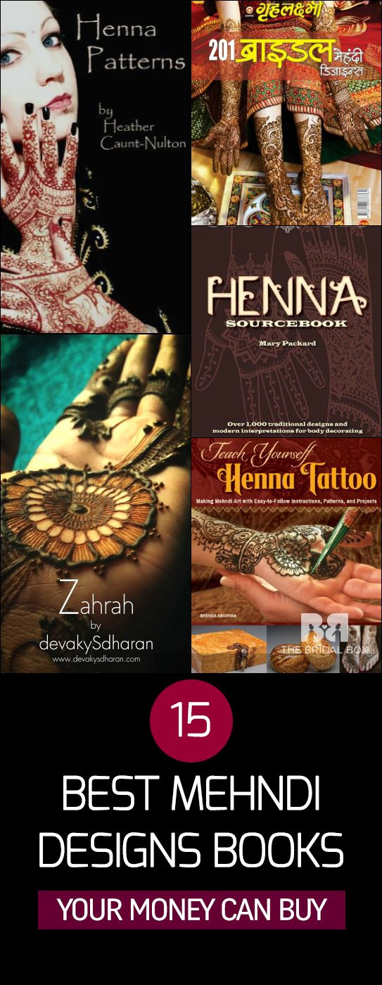 15 Of The Best Mehndi Designs Books Your Money Can Buy